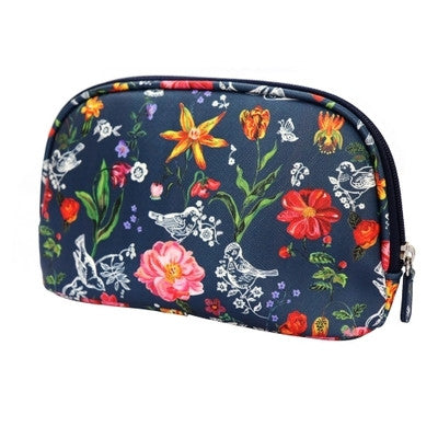 Cosmetic Pouch Nathalie Lete - My Garden Navy - NL6120