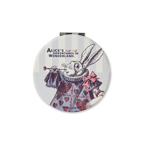 Hand Mirror Alice in Wonderland - White Rabbit - AL5642