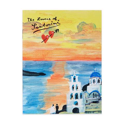 Handy Note Nathalie Lété - The Lover Of Santorini - S - NL7486
