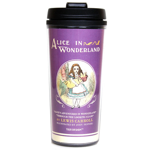 Tumbler Ver.02 - Alice in Wonderland - Purple - AL0364