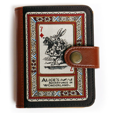 Leather Card Case Alice in Wonderland - AL7888