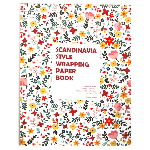 Wrapping Paper Book - Scandinavia - BB9179