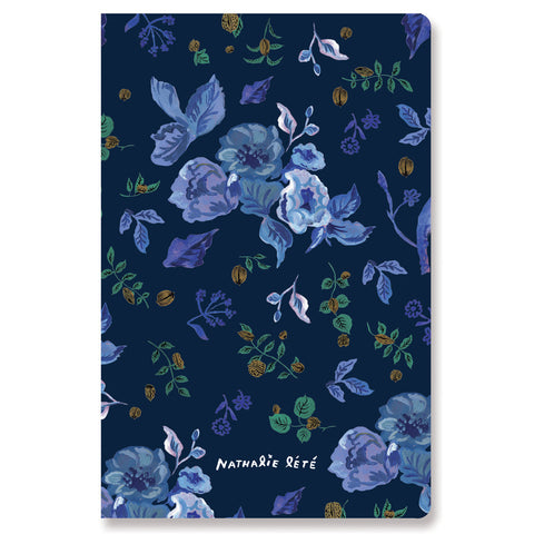 Stitch Notebook - Nathalie Lété - Vintage Collage - Line Note - Pocket - NL1798