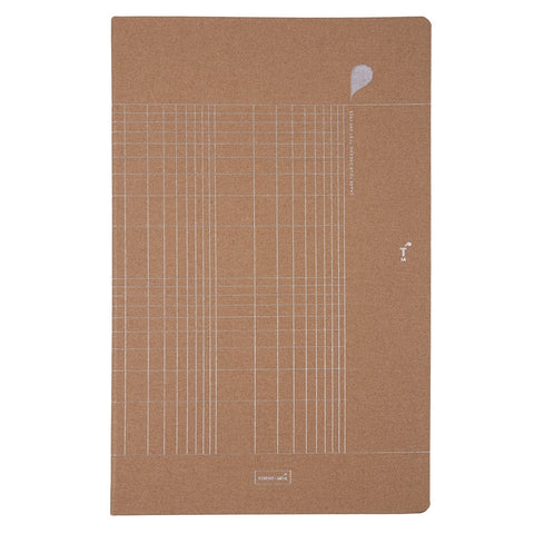 NOTEBOOK A4 LUXE TINNE+MIA