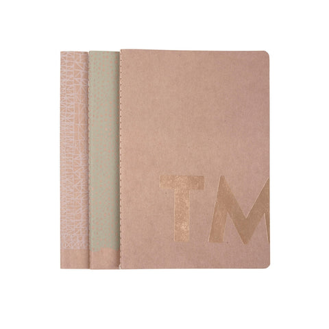 Notebooks Small Tinne+Mia (set 3)