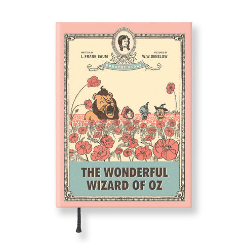 Hardcover Notebook - The Wizard of Oz - Vintage Galore - Agenda Ver.3 - Flower Garden - OZ2535