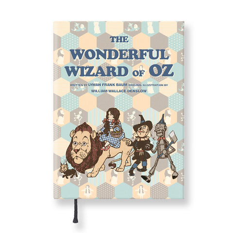 Hardcover Notebook - The Wizard of Oz - Vintage Galore - Agenda Ver.5 - Pattern A - OZ2542