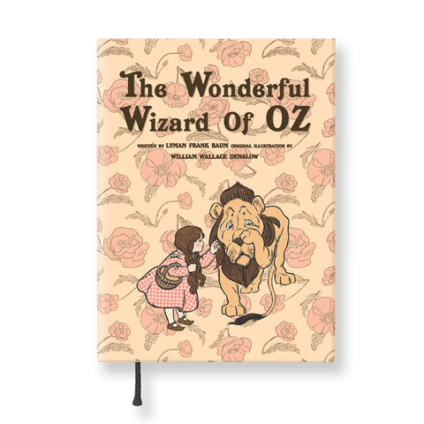 Hardcover Notebook - The Wizard of Oz - Vintage Galore - Agenda Ver.6 - Pattern B - OZ2559