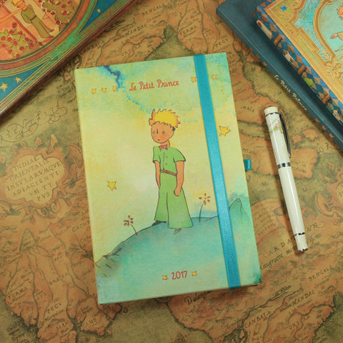 Agenda The Little Prince B5 2017 - 140x210