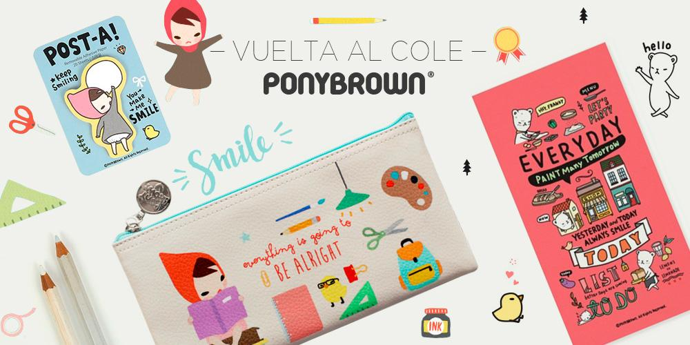 Vuelta al cole. Pony Brown