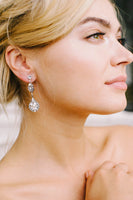 Classic bridal drop earrings | Sara Gabriel