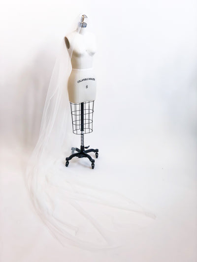 Sample Sale | Custom Paulette veil