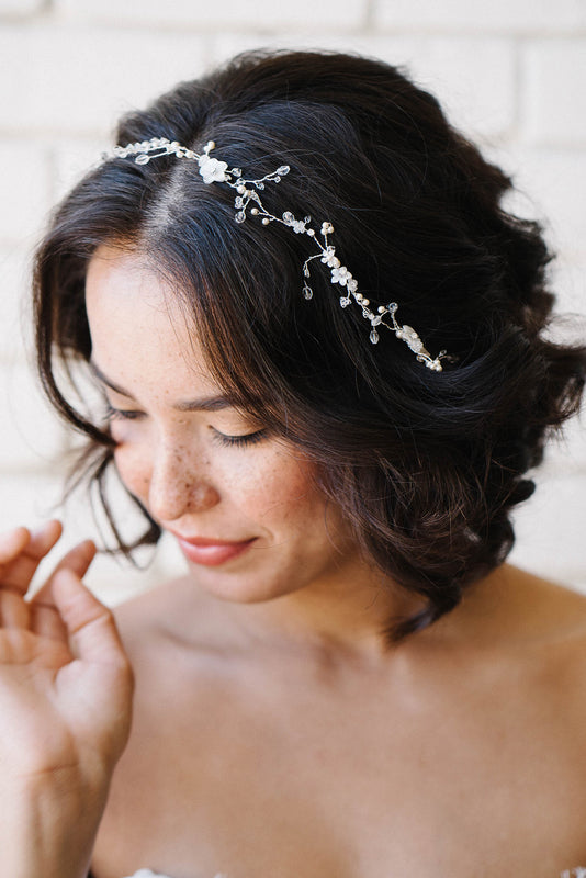 Hair vine bridal headpieces | Sara Gabriel