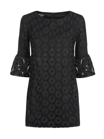 Ketta Lace Dress With Frill Sleeve