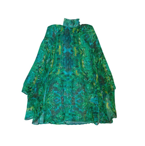 Green Tragopan Dress