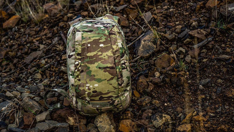 <p><strong>Ripstop Material</strong>: a limited, proprietary diamond pattern, rip stop nylon is a light, low vis alternative when operating where military fabrics would not be preferred. About the same weight as LiteLok Material, 30% lighter than 500D Cordura Nylon. 100% Nylon.</p> <p><span><strong>LiteLok® Material</strong> is about 30% lighter than 500D Cordura® Nylon while still maintaining outstanding abrasion resistance. Features a double layer design that is less visible in low light environments and water resistant up to 127cm. 100% Nylon.</span></p>