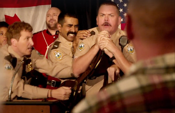 Super Troopers 2 | the Super Troopers sequel has the Vermont Highway Patrol replacing RCMP Mounties in a Canadian city that turns out to actually be American. In theaters April 20.