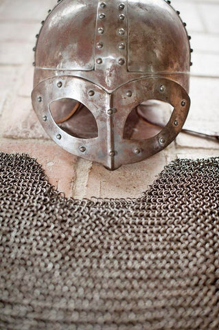 Viking helmet from Gjermundbu grave