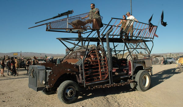 Wasteland Weekend post apocalyptic Mad Max style vehicle