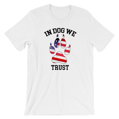 In Dog We Trust v1 Tee - the American Version