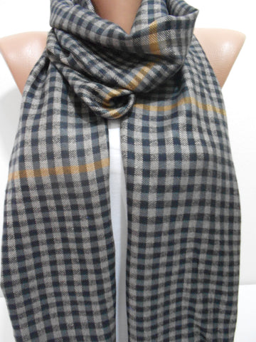 Unisex Plaid Scarf Men Women Scarf Gift for Him for Her  SCARFCLUB