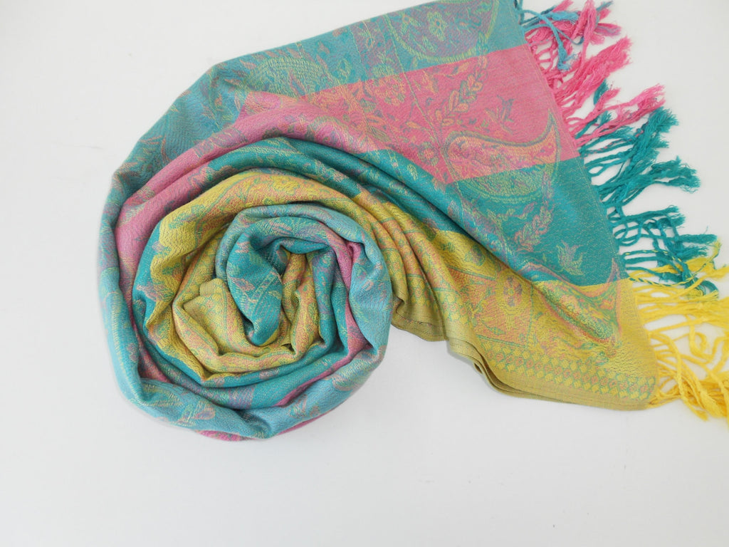 Oversize Pashmina Scarf Shawl Paisley Scarf Fall Winter Spring Summer Scarf Fashion Accessories Gifts For Her Mothers Day From Daughter Son