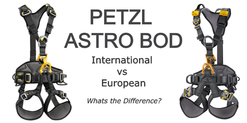 Petzl Astro - International vs European