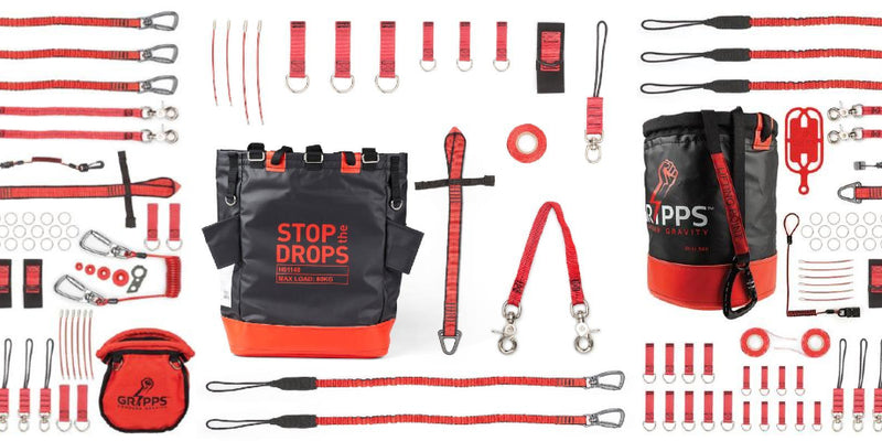 Stop The Drops - Tool Tethering Saves Lives