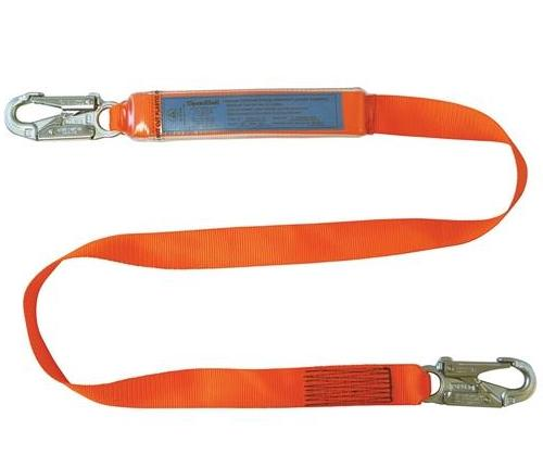 SPANSET ERGO Single Lanyards with Small Hooks Webbing
