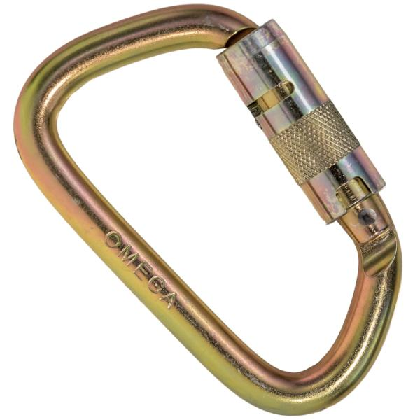 Omega Pacific Modified D Steel Carabiner Height Dynamics