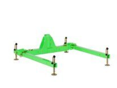 3M DBI-SALA 3 Piece Davit Base High Capacity Short Reach