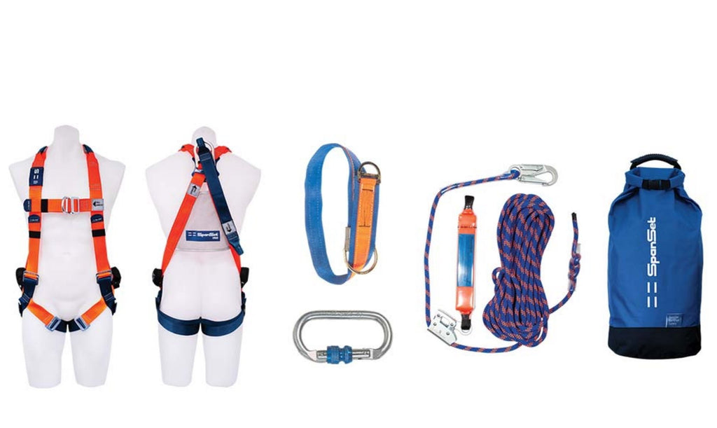SPANSET Roof Workers Kit 15 metres
