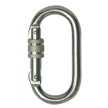 Axis Steel Oval Carabiner AXS258SSIL