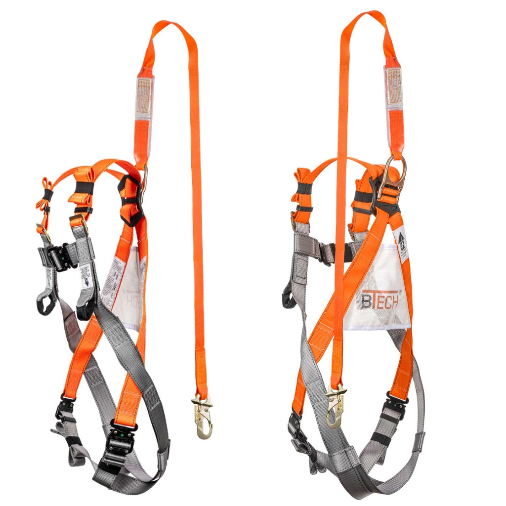 BTECH ENTRYFIT Full Body Harness With 2m Lanyard