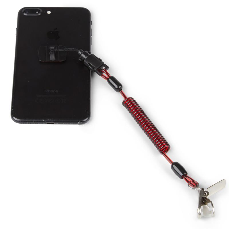 GRIPPS Coil Phone Tether with Phone