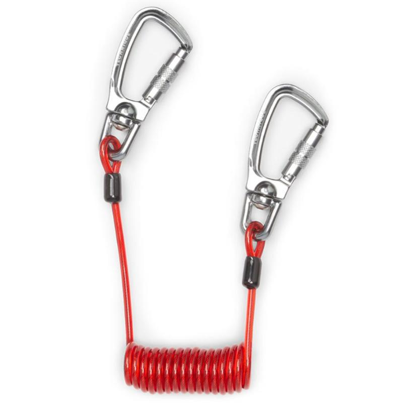GRIPPS Coil Tether Dual-Action Single pack