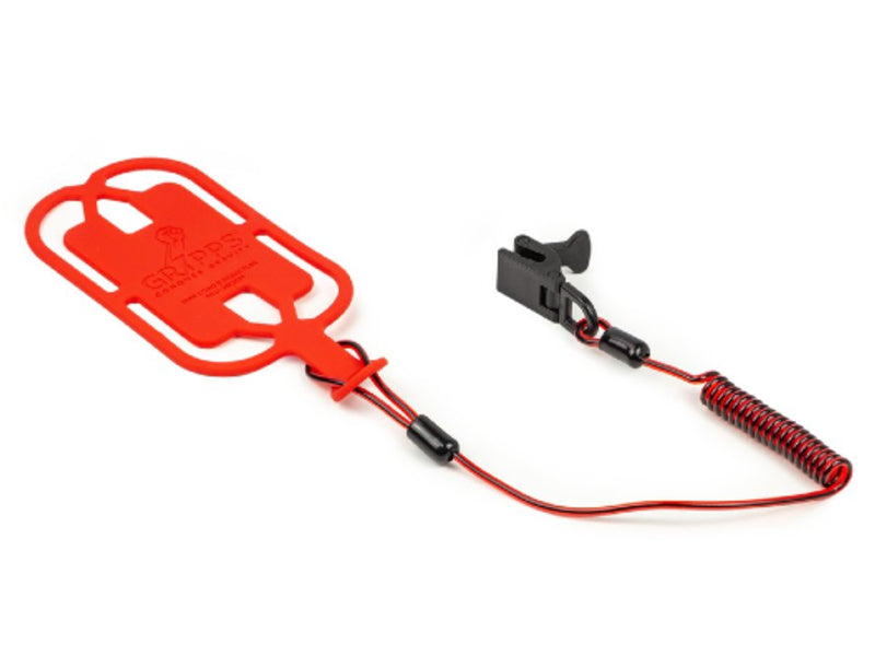 GRIPPS Phone Gripper With Coil Tether Single pack