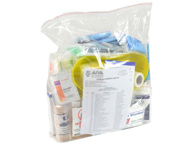 General Workplace Emergency First Aid Kit - Refill