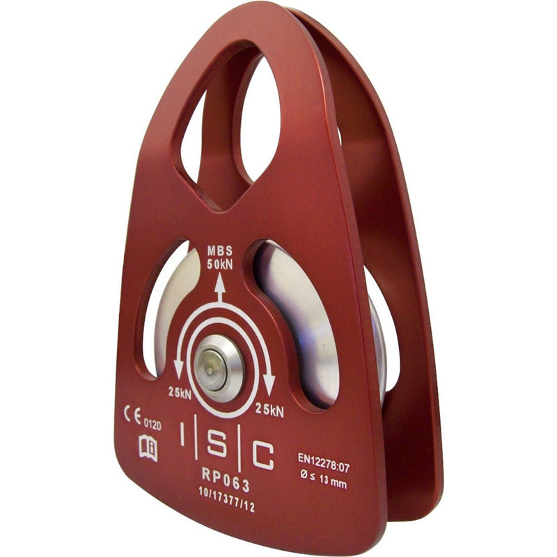 ISC Prusik Pulley Medium Single Alloy