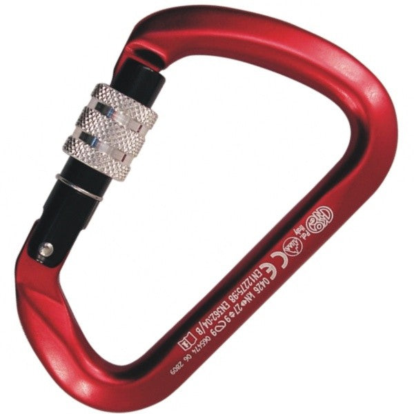 KONG Big D Alloy Carabiner Anodised