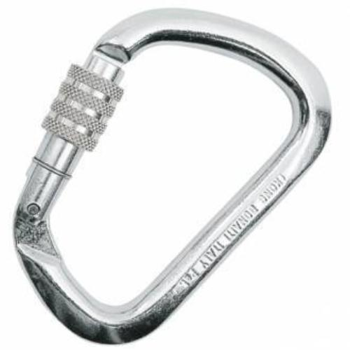 KONG Large Stainless Steel Carabiner - Screwgate