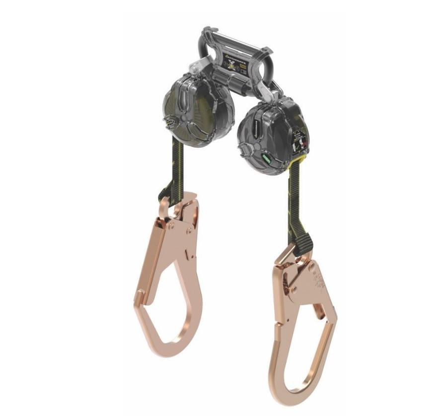 MSA Latchways Mini PFL - Twin Steel Scaff Hook
