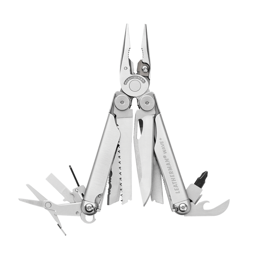 Leatherman Wave Plus Multi-tool Stainless Steel with Nylon Sheath