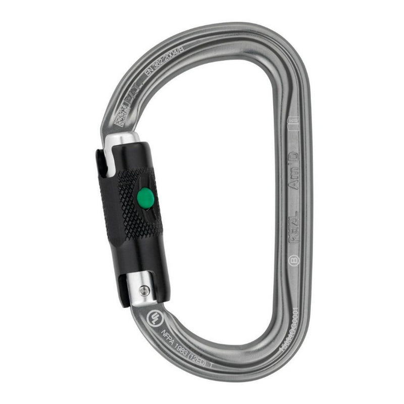 PETZL AMD Alloy Carabiner Ball-Lock