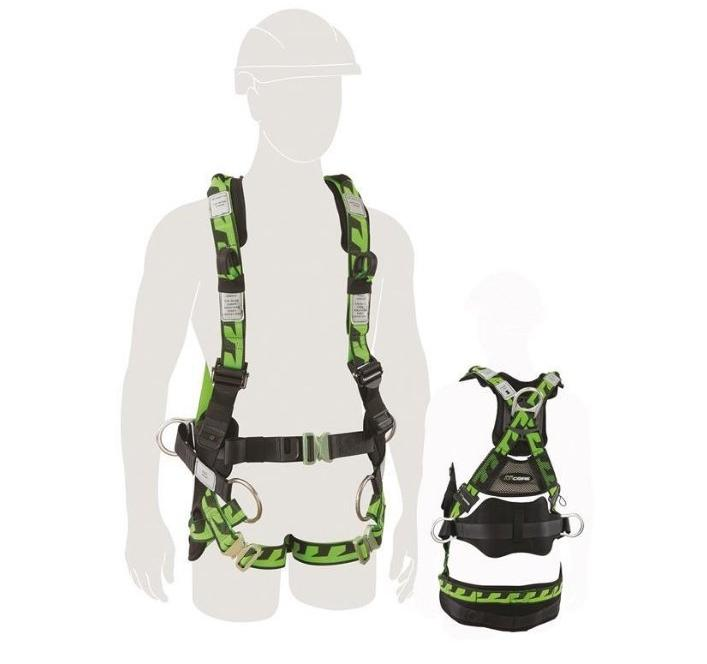 MILLER Aircore Tower Harness with Soft Loops