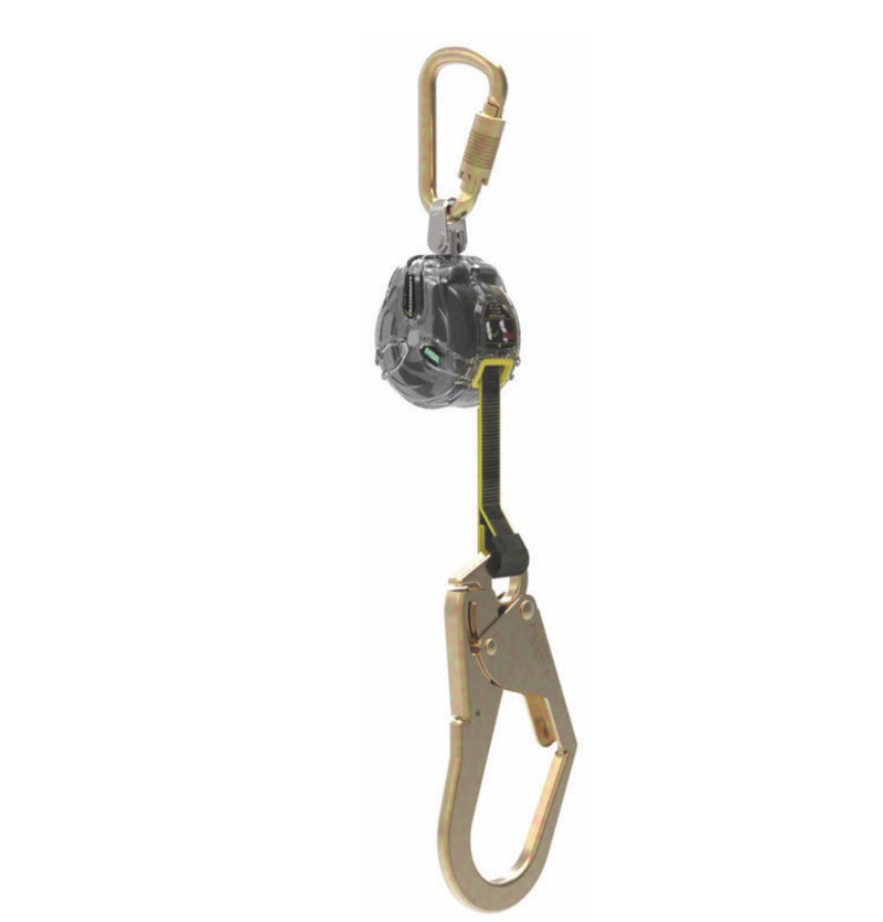 MSA Latchways Mini PFL - Single Steel Scaff Hook