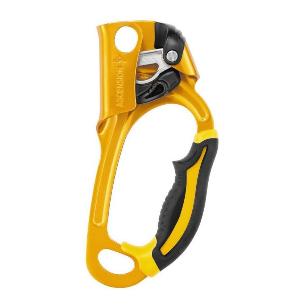 PETZL Ascension Right Hand Yellow and Black