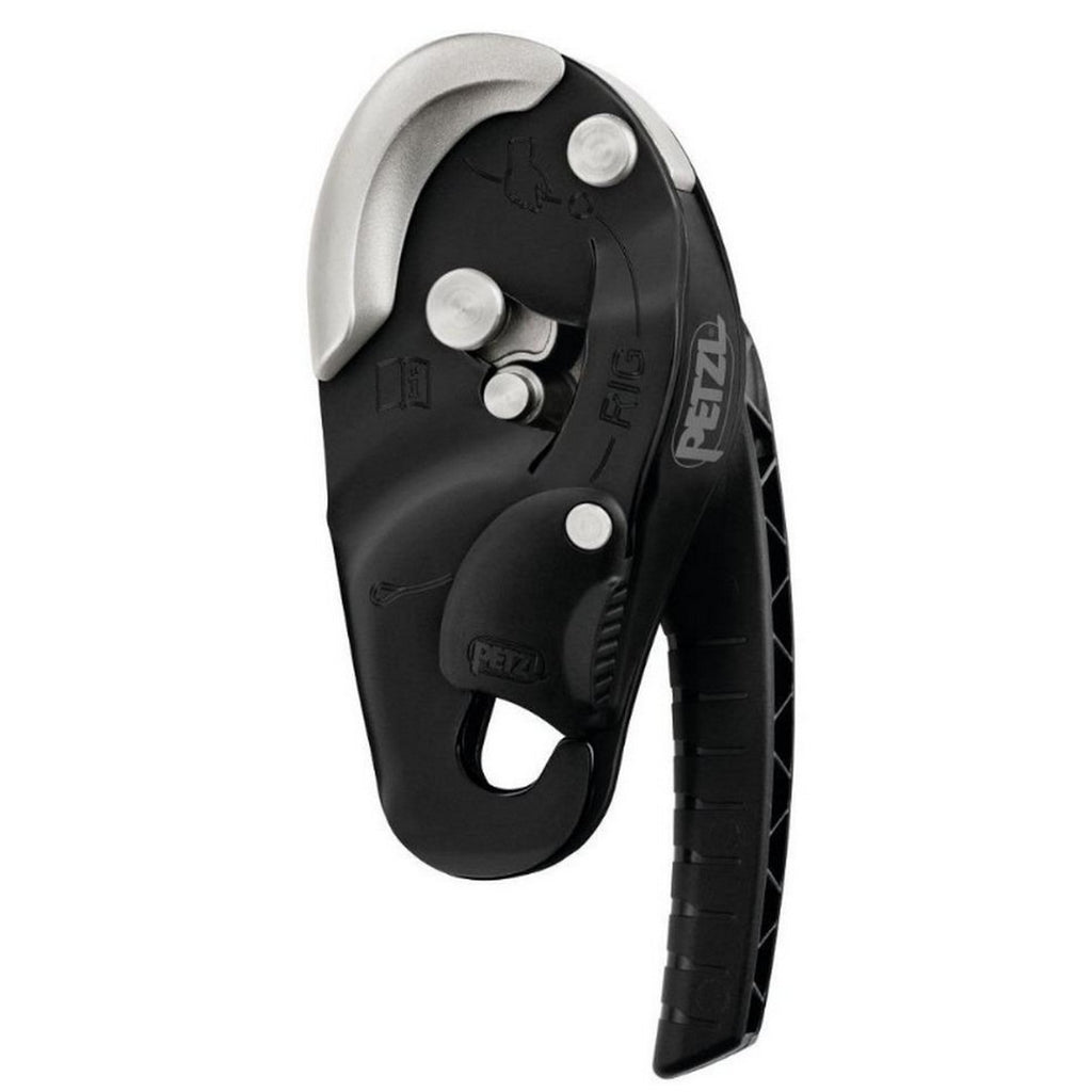 PETZL Rig Descender Black