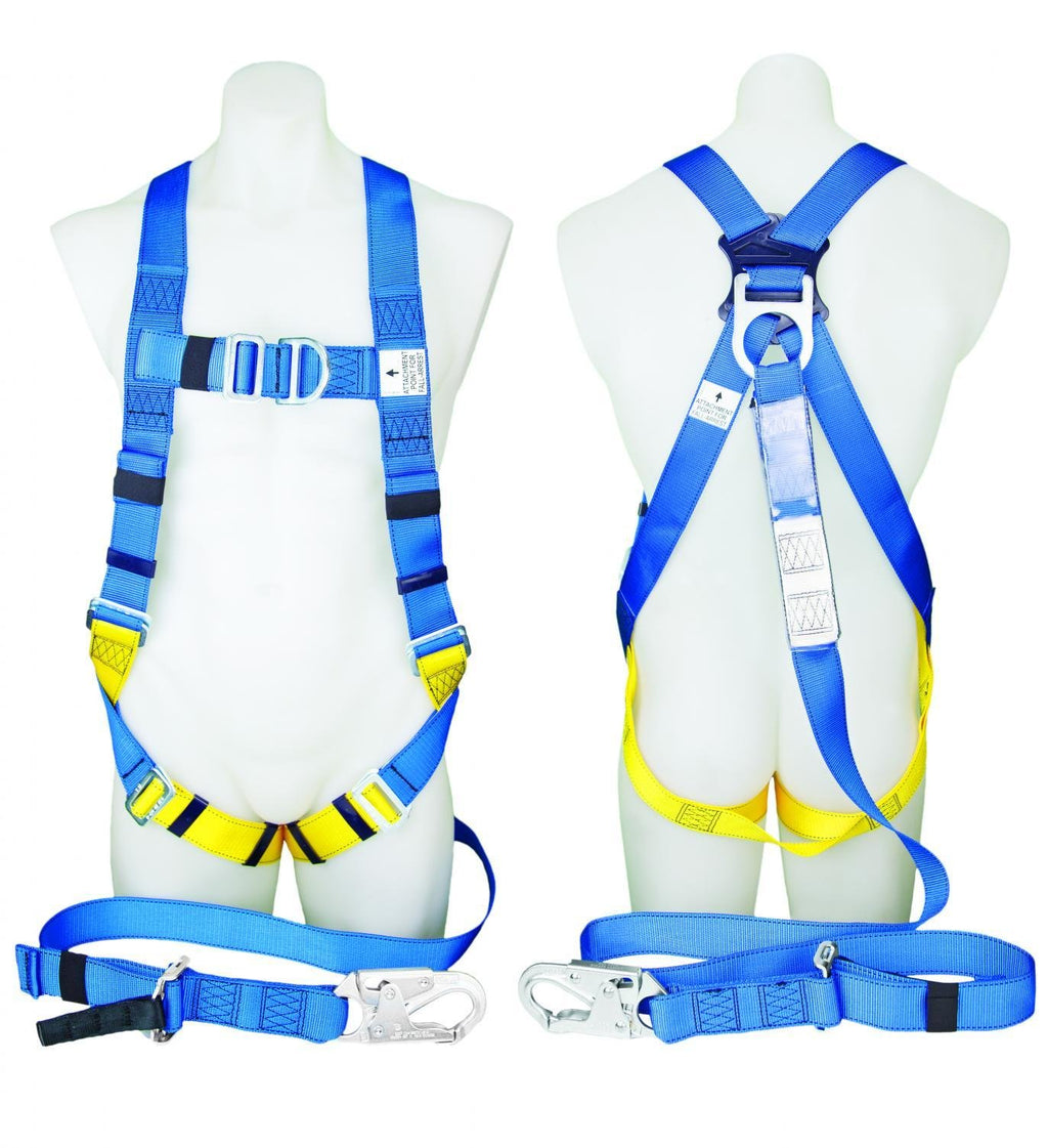 PROTECTA FIRST Fall Arrest Harness with Lanyard