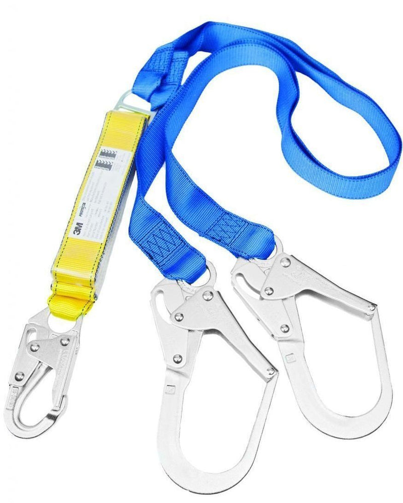 PROTECTA FIRST Twin Shock Absorbing Lanyard